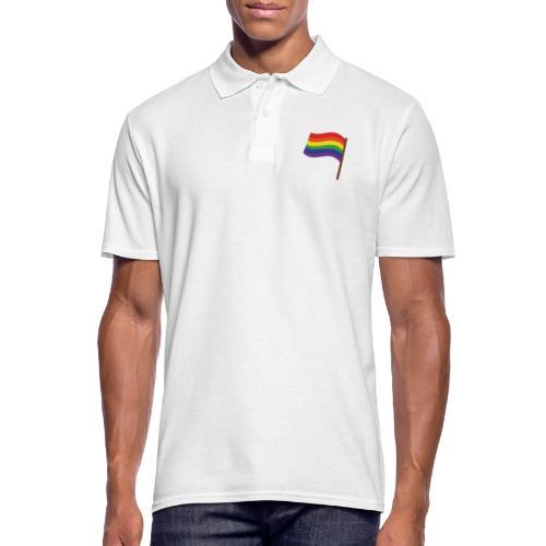 Regenbogenfahne | Geschenk Idee | LGBT - Männer Poloshirt