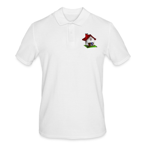 Haus - Männer Poloshirt