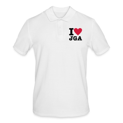 I love JGA - Männer Poloshirt