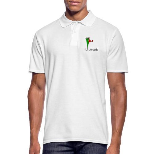 Galoloco - Liberdaded - 25 Abril - Men's Polo Shirt