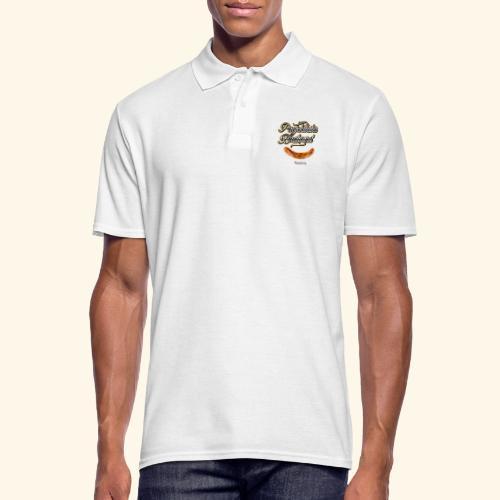 Grillen Design Projektleiter Bratwurst - Männer Poloshirt