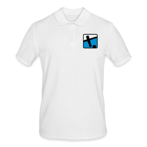 soccer player - Kickershirt - Männer Poloshirt