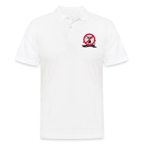 Erdöl Nein danke - Männer Poloshirt