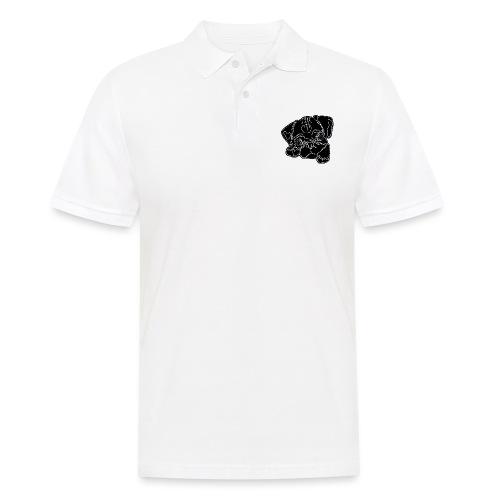 Pug Face - Men's Polo Shirt