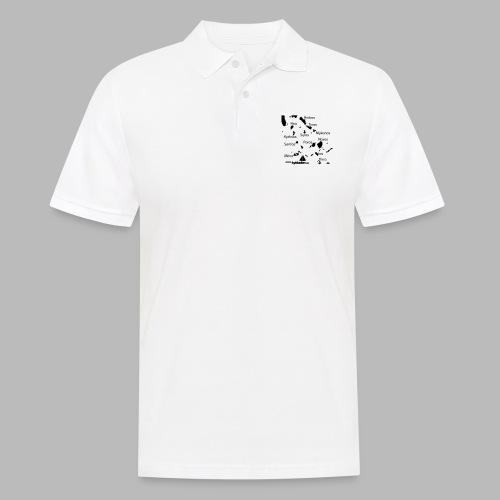 Kykladen Griechenland Crewshirt - Männer Poloshirt