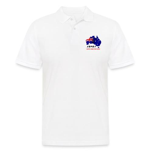 Australien - RETTE LEBEN - JETZT! - Männer Poloshirt