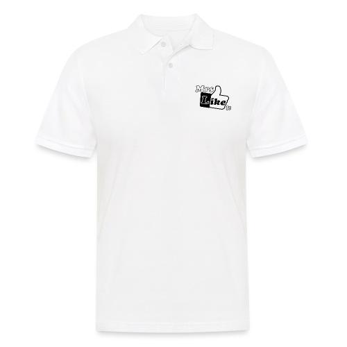 Mrs Like it - shirt (zwart-wit) - Mannen poloshirt