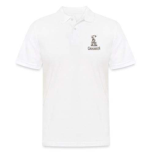 Drunk Crusader - Männer Poloshirt