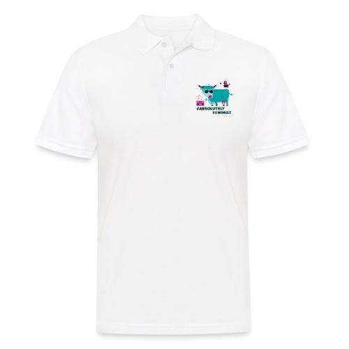 Absolutely Feminist (m) - Männer Poloshirt