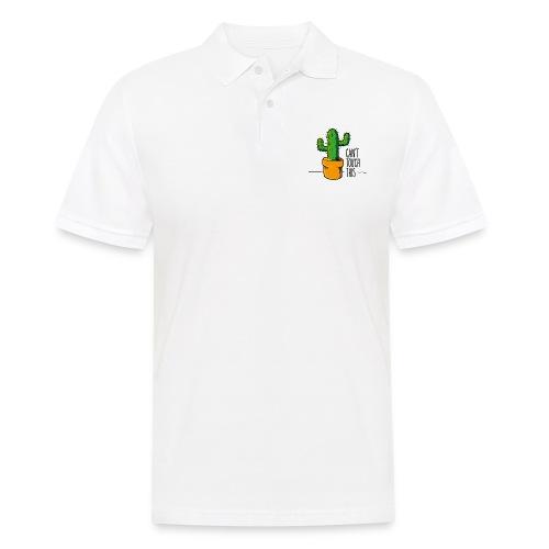 can't touch this – witzige Geschenkidee - Männer Poloshirt