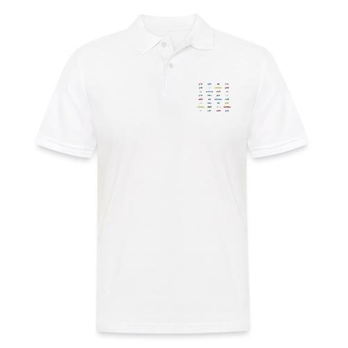Stroop Effekt deutsch - Männer Poloshirt
