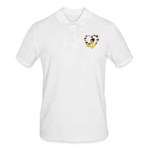 Schokoline und ihr süßer Traum - Männer Poloshirt