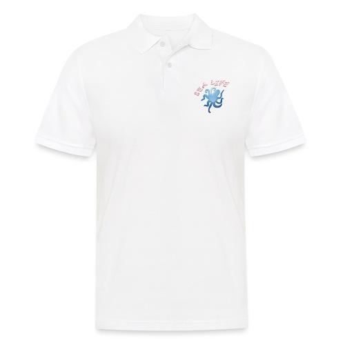 Klima Krake - Männer Poloshirt
