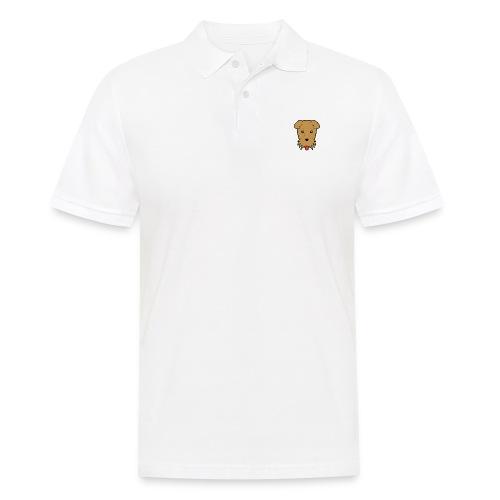 Shari the Airedale Terrier - Men's Polo Shirt