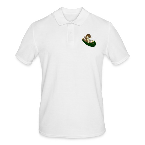 greencanoewithsticker - Men's Polo Shirt