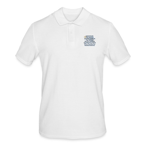 Mawwiage (blue) - Men's Polo Shirt