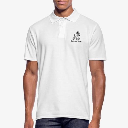 Bock auf Kerwe - Männer Poloshirt