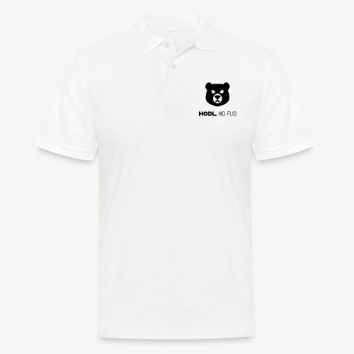 HODL-bearnofud-b - Men's Polo Shirt