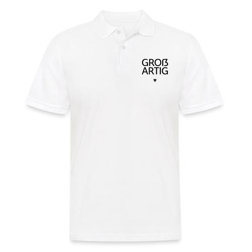 Großartig! Pro Versal-ß - Männer Poloshirt