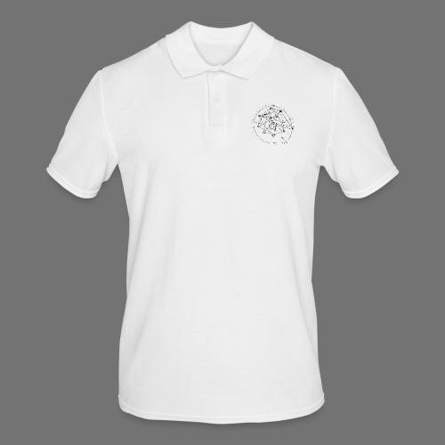 Strategia SEO nr 1 (czarny) - Koszulka polo męska