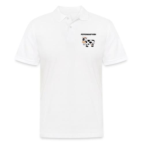 Fotografvieh - Männer Poloshirt