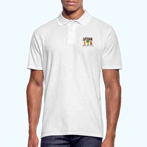 Vegan Runner Family - Men's Polo Shirt