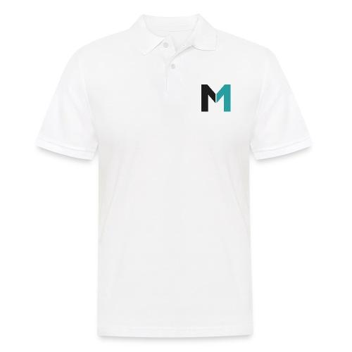 Logo M - Männer Poloshirt