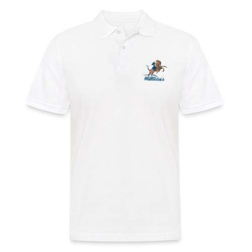 Udus mit Egoligo - Männer Poloshirt