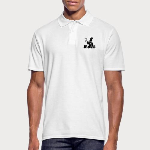 Holzfäller - Männer Poloshirt