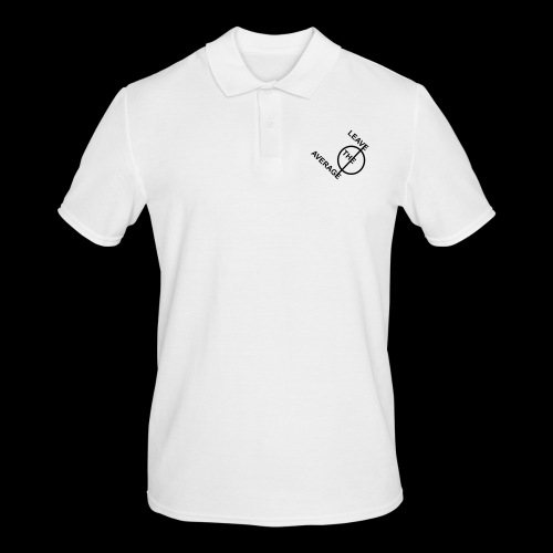 leave the average - Männer Poloshirt