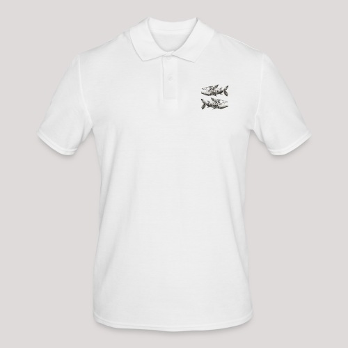 FishEtching - Men's Polo Shirt