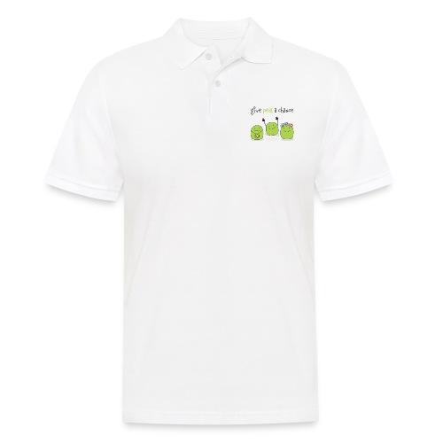 Give peas a chance! - Männer Poloshirt
