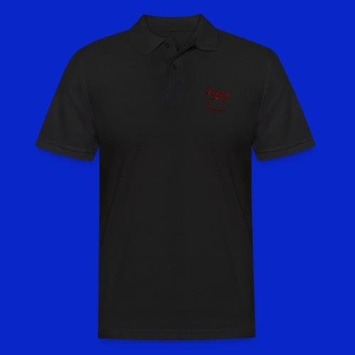 Jonny C Red Handwriting - Men's Polo Shirt