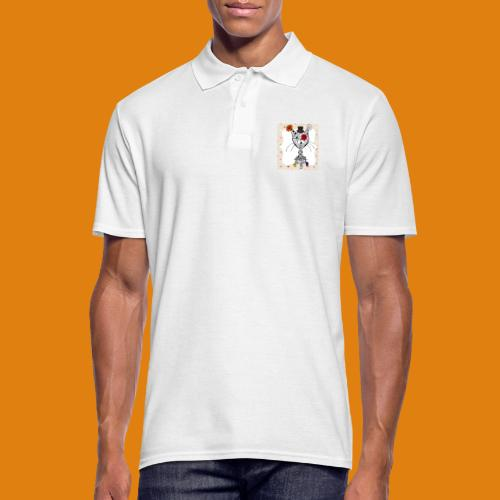 cat color - Men's Polo Shirt
