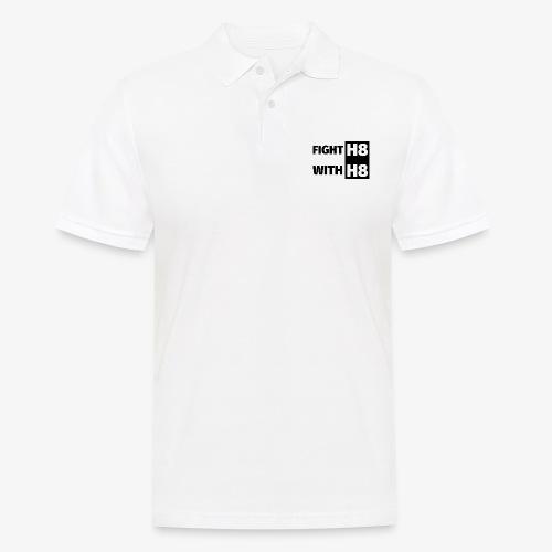 FIGHTH8 dark - Men's Polo Shirt