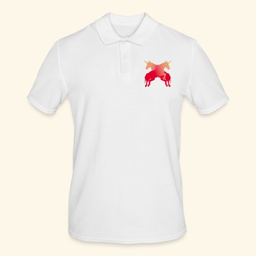 Unicorns Magical fairy tale lucky mane - Men's Polo Shirt