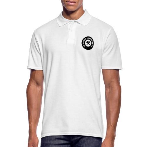ALL ABOUT HEIMWERKEN - LOGO - Männer Poloshirt