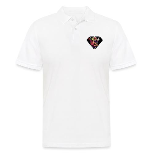 Tiger Hipster Design - Männer Poloshirt
