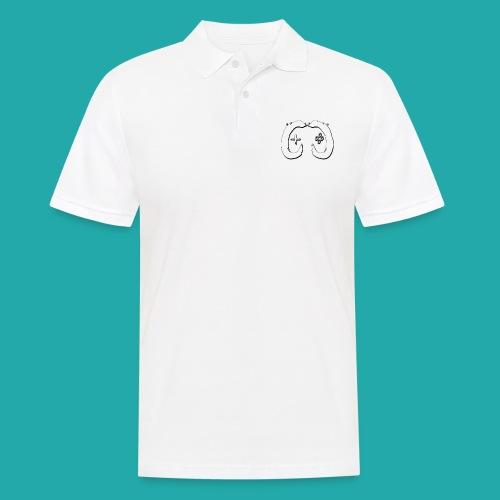 Crowd Control Logo - Men's Polo Shirt