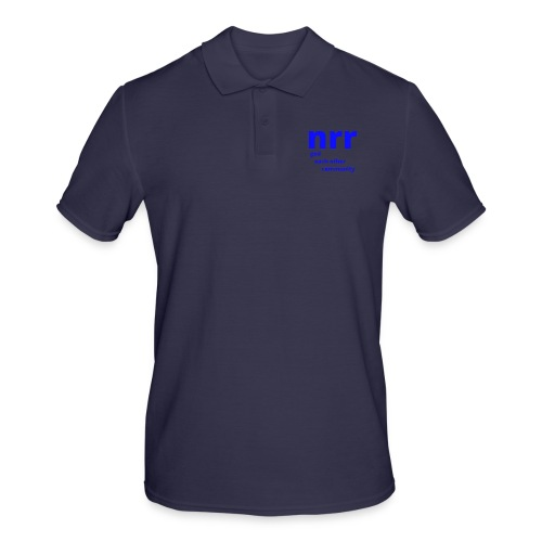 NEARER logo - Men's Polo Shirt