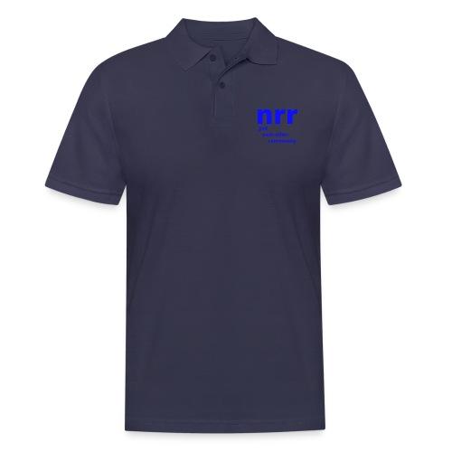 NEARER logo - Men's Polo Shirt