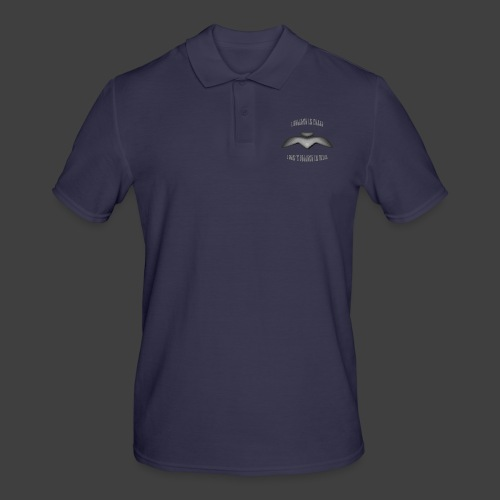 I believe in peace 4 png - Men's Polo Shirt