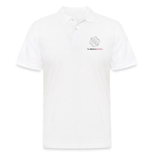 Two microsteps forward.... - Men's Polo Shirt