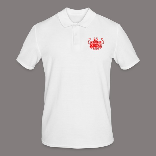 ASS_Logo_red_final - Männer Poloshirt