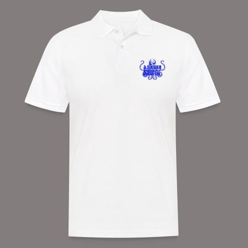 ASS_Logo_bl_final - Männer Poloshirt