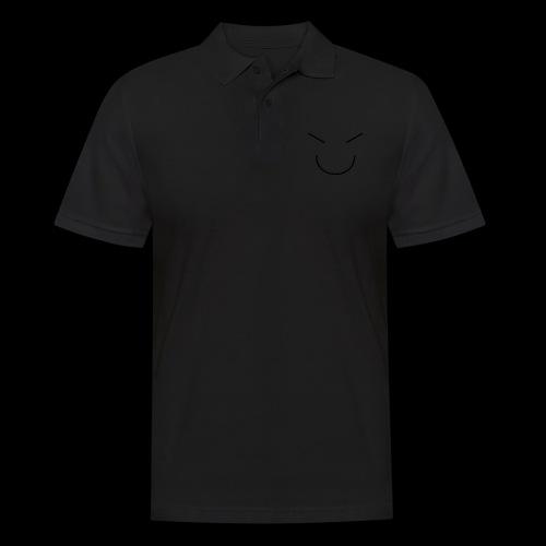 Gute Laune Schwarz - Männer Poloshirt