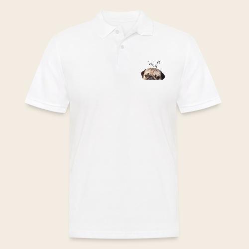 mops-schnarcht - Männer Poloshirt