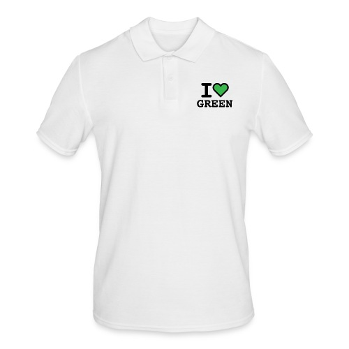 i-love-green-2.png - Polo da uomo