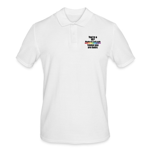Chemistry Joke pH-Skala - Männer Poloshirt