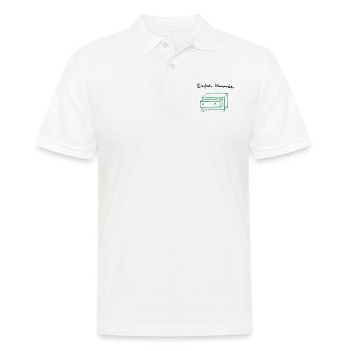 Einfach Kommode - Männer Poloshirt